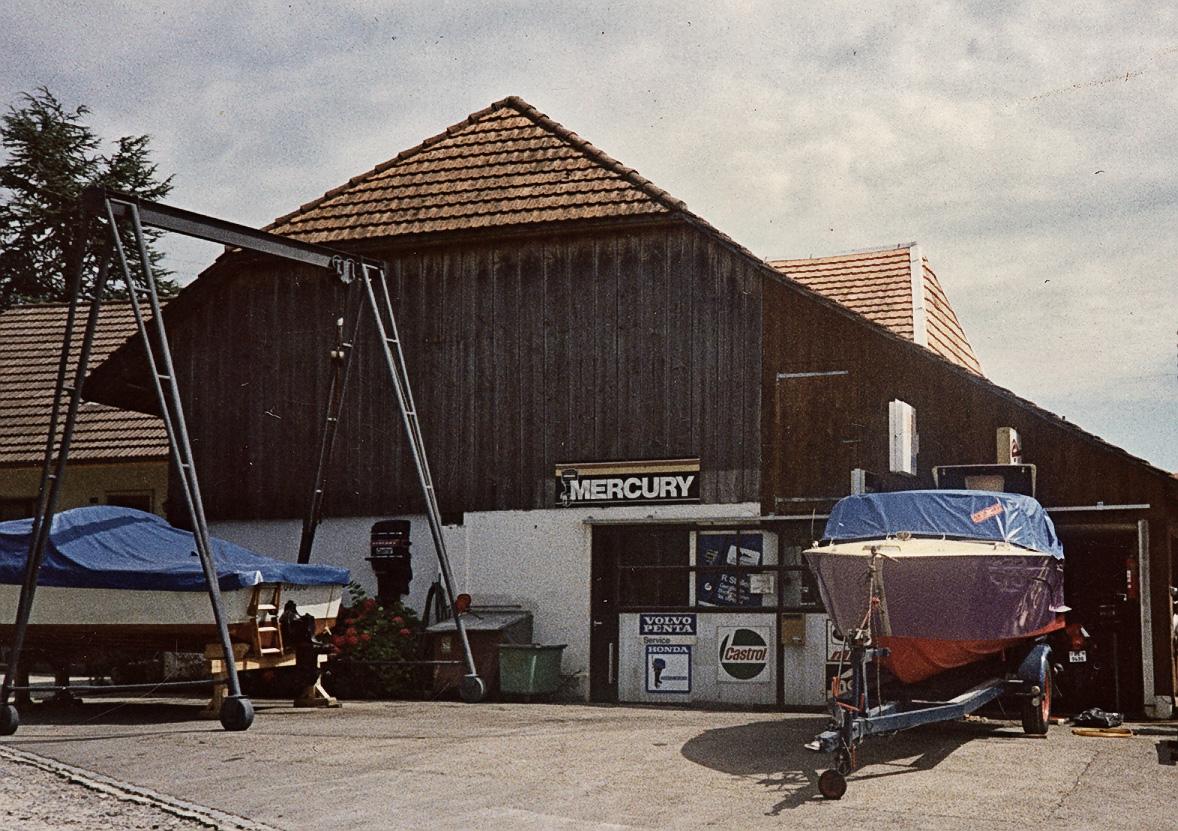 Altes Werkstatt der Firma Stoller